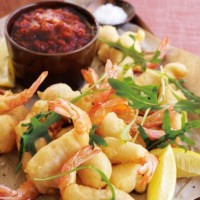 Beer Battered King Prawns