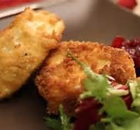 Homemade Breadcrumbed Fishcake